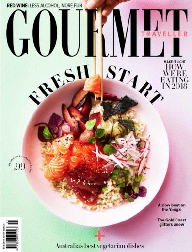 Bon Sol Editorial Gourmet Traveller 2018