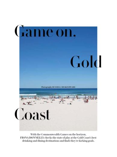 Bon Sol Feature Editorial Gourmet Traveller 2018